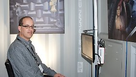 Thomer Shani arbeitete lange in der Hightech-Branche, bevor er ein Start-up mitgründete - das schaffte Vertrauen.