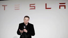Angriff auf den Massenmarkt: Modell 3 von Tesla rollt ab Sommer zu den Händlern