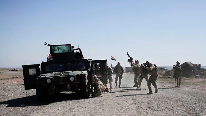 Der Osten Mossuls ist bereits befreit - nun läuft die Offensive auf den Westteil der Stadt.