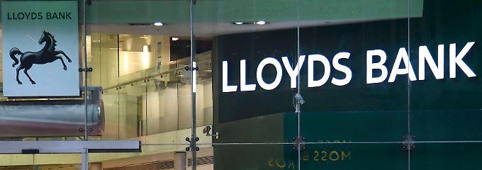Lloyds ist vor allem in Großbritannien aktiv, will nun aber schon mal vorsorgen.