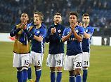 Applaus, Applaus: Die Schalker haben noch viel vor.