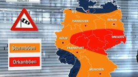 Wechselhafte Wetteraussichten: Sturmtief zieht nach Osten ab