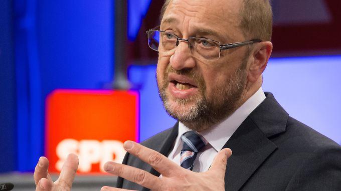 Der Aufschwung der SPD durch Martin Schulz zeigt sich auch in den Mitgliederzahlen.