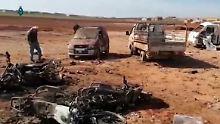 Dutzende Tote in Homs: Syrische Miliz bekennt sich zu Anschlägen