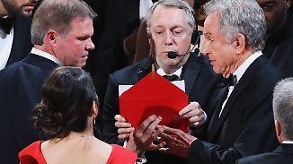 Cullinan und Ruiz: Verantwortliche für Oscar-Panne gefeuert