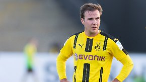 Längere Zwangspause beim BVB: Mario Götze leidet an einer Stoffwechselstörung