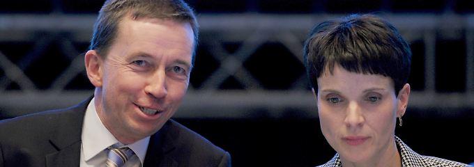 Bernd Lucke gründete die AfD im Februar 2013, Frauke Petry führt sie seit 2015.