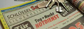Schlüsseldienst kassiert ab: Ist das Wucher?