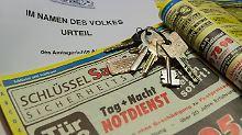 Prozess gegen Abzocke: Hohe Rechnung vom Schlüsseldienst?