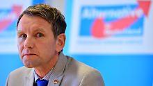 Ermittlungen eingestellt: Höckes Rede war keine Volksverhetzung