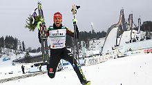 Gold bei der nordischen Ski-WM: Rydzek krönt sich zum Rekordweltmeister