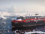 Stahlschnitt in Norwegen: Hurtigruten baut Schiff mit Hybridantrieb