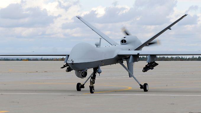 Das Bild zeigt eine Drohne MQ-9 Reaper des US-Militärs.