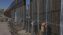 Nach Spekulationen in Medien: Hochtief hat keine Pläne für US-Mauerbau