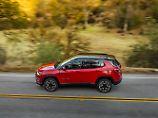 Jeep bringt im Sommer den neuen Compass auf den Markt.
