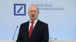 Mit Kapitalerhöhung aus der Krise: Deutsche-Bank-Chef Cryan bekommt zwei Stellvertreter