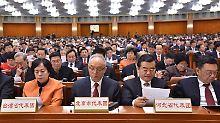 Die Wirtschaftspolitik nimmt einen breiten Raum beim Volkskongress in Peking ein.