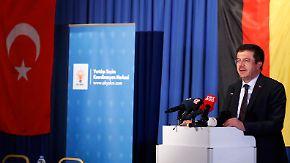 Streit um türkischen Wahlkampf: Minister Zeybekci spricht in Leverkusen und Köln