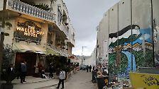 Mauer- statt Meerblick: Banksy eröffnet Kunsthotel an Mauer in Bethlehem