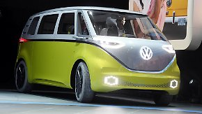 Retro-Charme in Genf: VW-Kultbus präsentiert sich in neuem Antlitz
