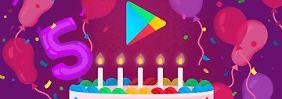 Haben Sie sie schon alle?: Die beliebtesten Downloads bei Google Play