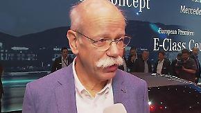 """Dieter Zetsche im n-tv Interview: """"Der Diesel hat eine gute Zukunft"""""""