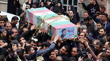 Schiitische Stätten verteidigt: 2000 Kämpfer des Iran sterben in Syrien