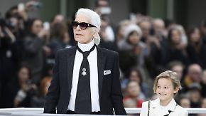 Promi-News des Tages: Karl Lagerfeld zündet eine Rakete