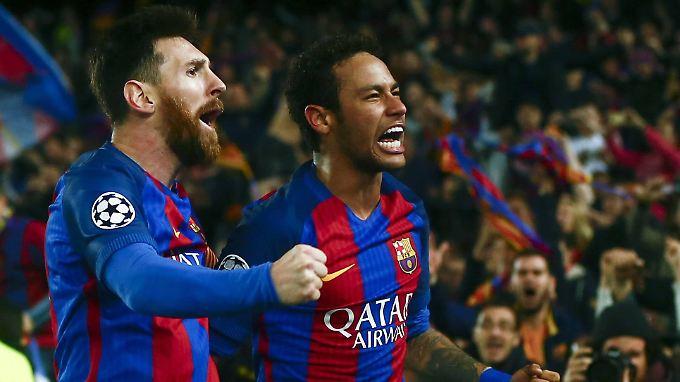 Alle lieben Neymar, zumindest in Barcelona.