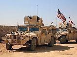 Frische Kräfte im Kampf um Rakka: Trump stockt Truppe in Syrien auf