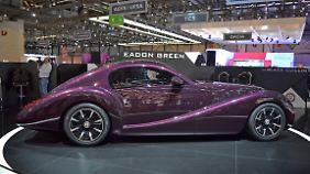 Retro ist in - glaubt jedenfalls die Fahrzeugschmiede Eadon Green, die den Black Cuilin in Genf zeigt.