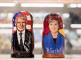 Bevorstehendes Treffen: Trump will von Merkel lernen