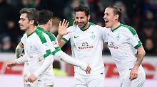 Punkteteilung für Leverkusen: Pizarro trifft für Werder
