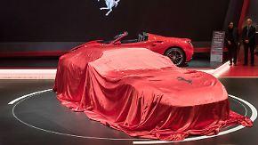 E-Flitzer und PS-Monstren: Autobauer buhlen in Genf um Aufmerksamkeit