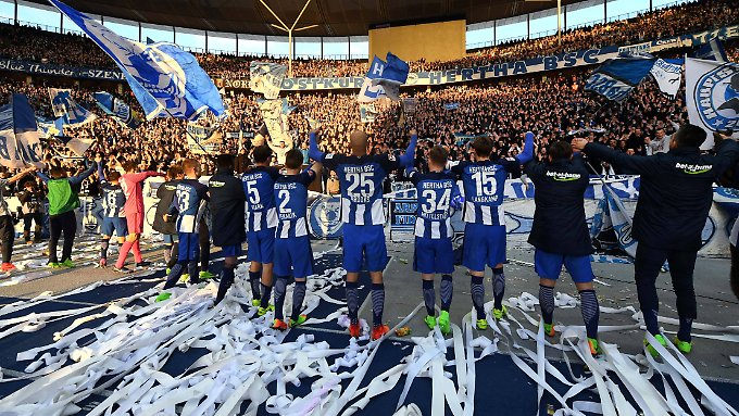 Im dritten Anlauf in dieser Saison gelang Hertha der erste Sieg gegen den BVB.