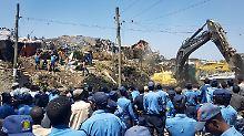 Unglück nahe Addis Abeba: Abfall verschüttet dutzende Müllsucher