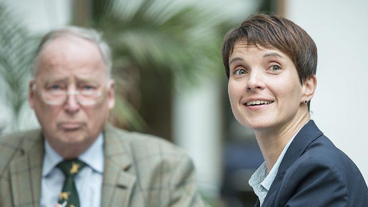 Der Antrag von Parteichefin Frauke Petry erzeugt Streit im Bundesvorstand der Partei.