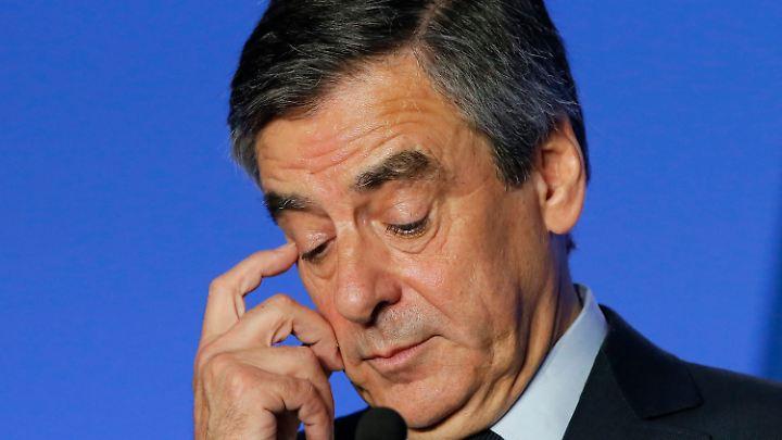 Die Luft wird immer dünner für François Fillon.
