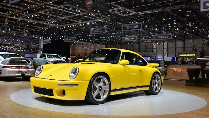Das mag aussehen wie ein Porsche 911 CTR 1987, ist aber ein Ruf CTR 2017.