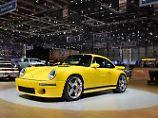 Das mag aussehen wie ein Porsche 911 CTR 1987 ist aber ein Ruf CTR 2017.