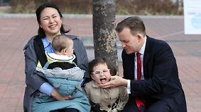 """BBC-Experte erklärt Interview: """"Das sind meine Tochter und mein Sohn"""""""