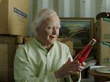 """Robert Gustafssons Leben mit 101: """"Sie war 86 und hat mit mir geflirtet"""""""