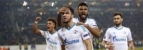 Drama-Duell in der Europaliga: Gladbach schenkt Schalke das Viertelfinale
