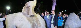 """""""Starker Arm"""": Rätsel um Kairoer Pharaonenstatue gelöst?"""