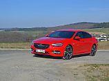 Der neue Opel Insignia sieht schnittig aus. Besonders dann, wenn er mit dem OPC-Paket aufgewertet wurde.
