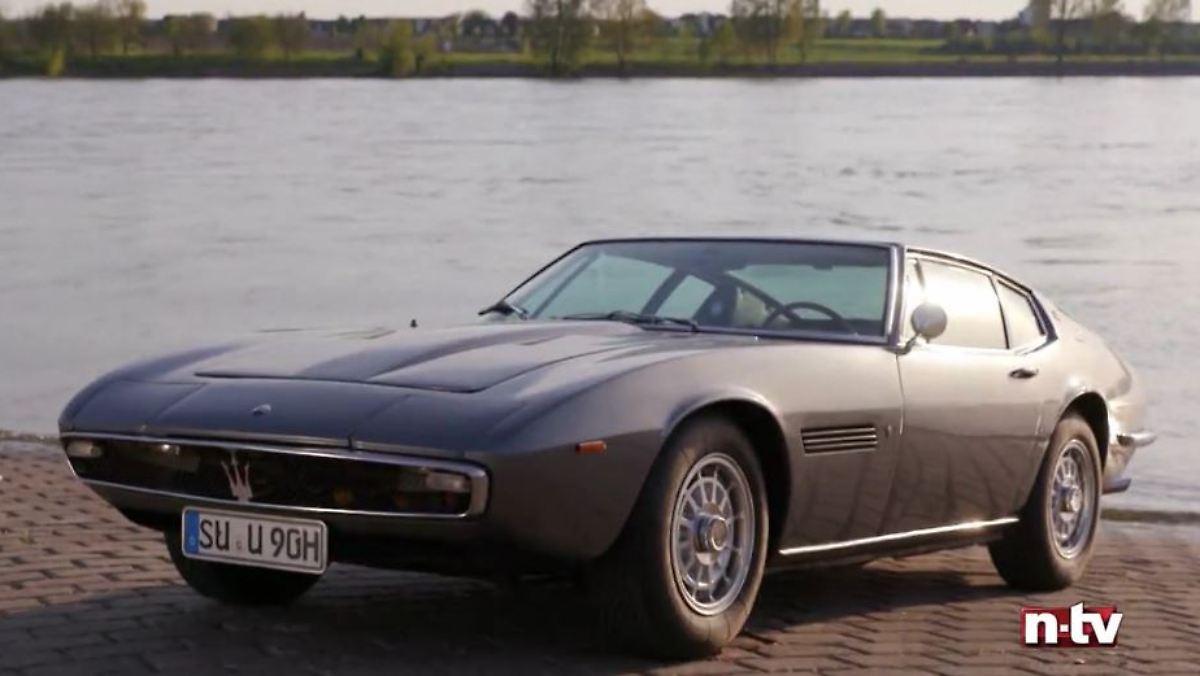 Maserati Ghibli schrieb Designgeschichte