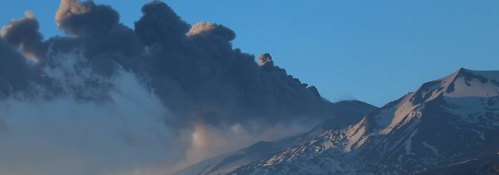 Intensivere Ätna-Eruptionen in den vergangenen Tagen.