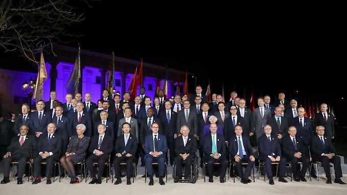 Üblicherweise bekennt sich die G20-Gruppe in ihren gemeinsamen Abschlusserklärungen zum Freihandel. Diesmal nicht.