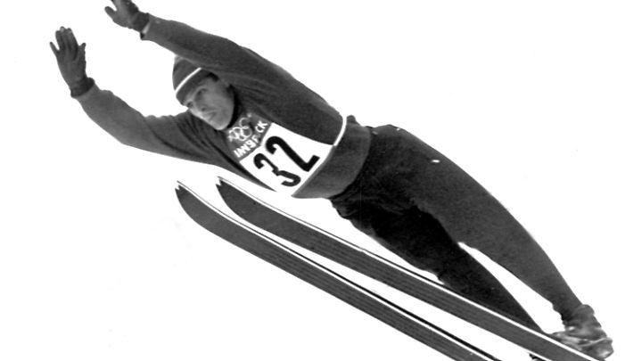 In den 50er- und 60er-Jahren dominiert Recknagel die Skisprung-Welt.