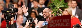 100 Prozent der gültigen Stimmen - solch ein Ergebnis hat noch kein SPD-Chef der Nachkriegszeit erreicht.